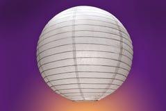 Paper lamp Royalty Free Stock Image