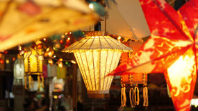 Paper Lamp Royalty Free Stock Photos