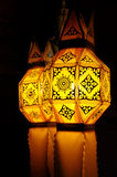 Paper lamp, lanterns festival. In Thailand royalty free stock images