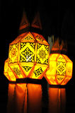 Paper lamp, lanterns festival. In Thailand Royalty Free Stock Photography