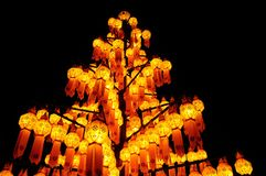 Paper lamp, lanterns festival Royalty Free Stock Photos