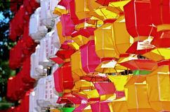 Paper lamp, lanterns festival Stock Photo