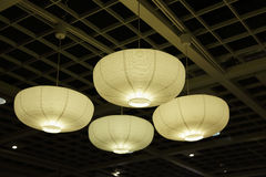 Paper lamp shades Stock Images