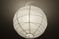 Paper lampshade Stock Image