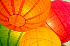 Paper lanterns Royalty Free Stock Photo