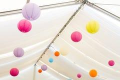 Paper lanterns Royalty Free Stock Image