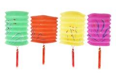 Paper Lanterns Royalty Free Stock Photos