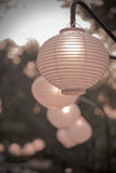 Paper lanterns Royalty Free Stock Photography