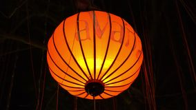 Paper lanterns in Hoi An, Vietnam stock video