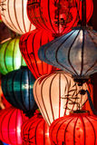 Paper lanterns on the streets of Hoi An Stock Photo