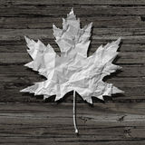 Paper Leaf Royalty Free Stock Photos