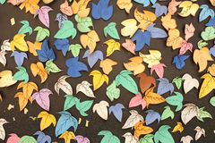 Paper leafes Stock Photo