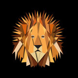 Paper Lion Royalty Free Stock Photos