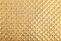 Paper with luxury golden pattern Royalty Free Stock Photography