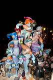 Paper mache figures, Valencia, Fallas Stock Images