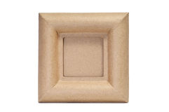 Paper-mache frame Royalty Free Stock Photography