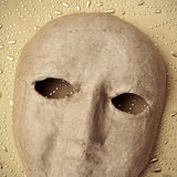 Paper-mache mask Royalty Free Stock Photography
