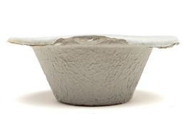 Paper mache medical bowl Royalty Free Stock Photo