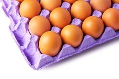 paper magasin för ägg Arkivfoto