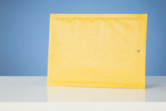 Paper Mail - Yellow Envelope Royalty Free Stock Image