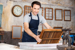 Paper Making Deckle Royalty Free Stock Photos