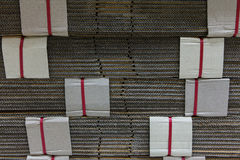 Paper for the manufacturing material. Stock Photos