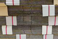 Paper for the manufacturing material. Royalty Free Stock Photo
