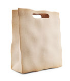 Paper market bag. 3D Icon isolated Royalty Free Stock Photography