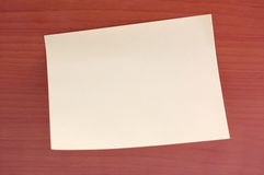 Paper for marks Royalty Free Stock Image