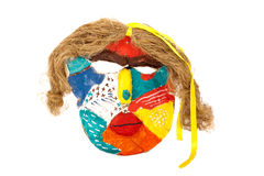 Paper mask Stock Image