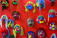 Paper Masks Royalty Free Stock Images