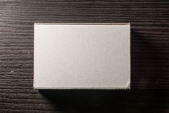 Paper Match Boxes Cartons Cardboard White Blank Template Contraast Royalty Free Stock Photography