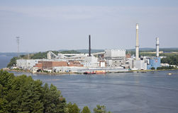 Paper mill Stock Photography