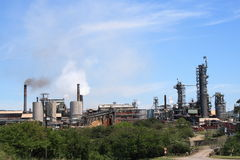 Paper mill. Paper factory in Durban, south africa royalty free stock photography