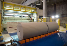 Paper Mill Stock Image