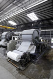 Paper mill machine Stock Photography