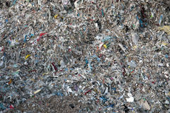 Paper mill - Paper recycling (waste contaminants) Stock Photos