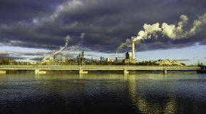 Paper mill. Stock Images
