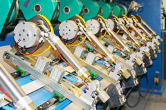 paper mill precision machinery equipment Stock Photos