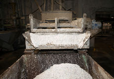 Paper Mill - Pulping department Royalty Free Stock Photo