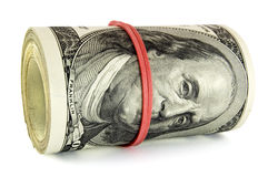 The paper money Royalty Free Stock Photography