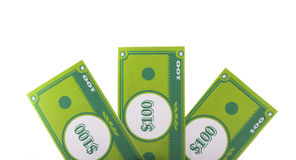Paper Money. Stack of money made in papercraft Stock Images