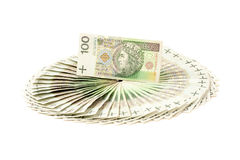 Paper money from poland to use in business Stock Photography