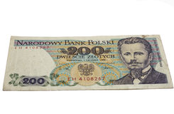 Paper money Polish Royalty Free Stock Images