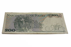 Paper money Polish Royalty Free Stock Photo