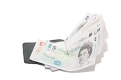 Paper money - Pound Stock Photo