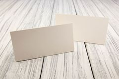 Paper nameplate Royalty Free Stock Image