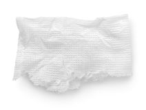 Torn napkin Stock Images