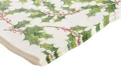 Paper napkins Royalty Free Stock Photos