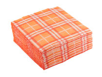 Paper napkins Stock Images